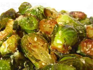 Herbed Brussels sprouts