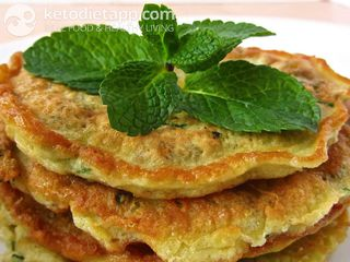 Savory cheese pancakes