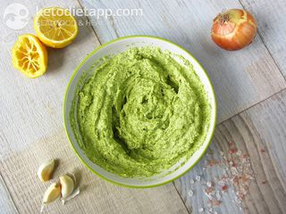 Keto vegetable dip