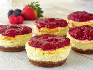 Easy keto cheesecake bites
