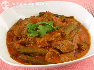 Indian lamb okra