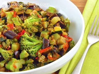 Low-carb Caponata