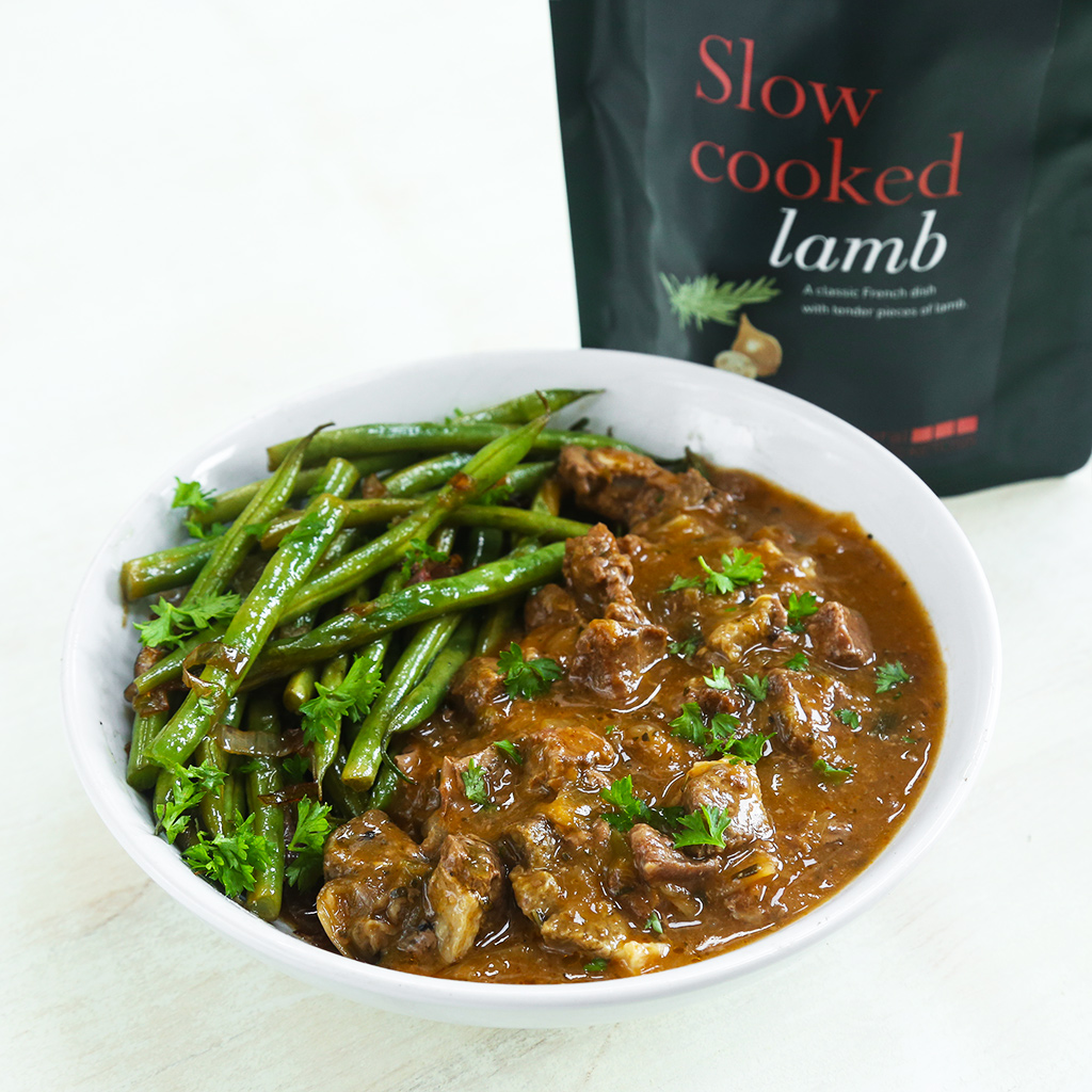 Slow Cooked Lamb