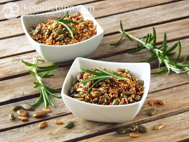 Rosemary roasted seeds