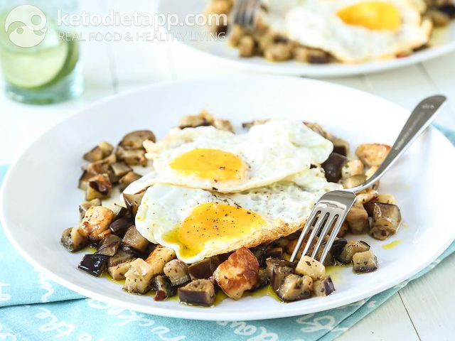 Greek breakfast hash