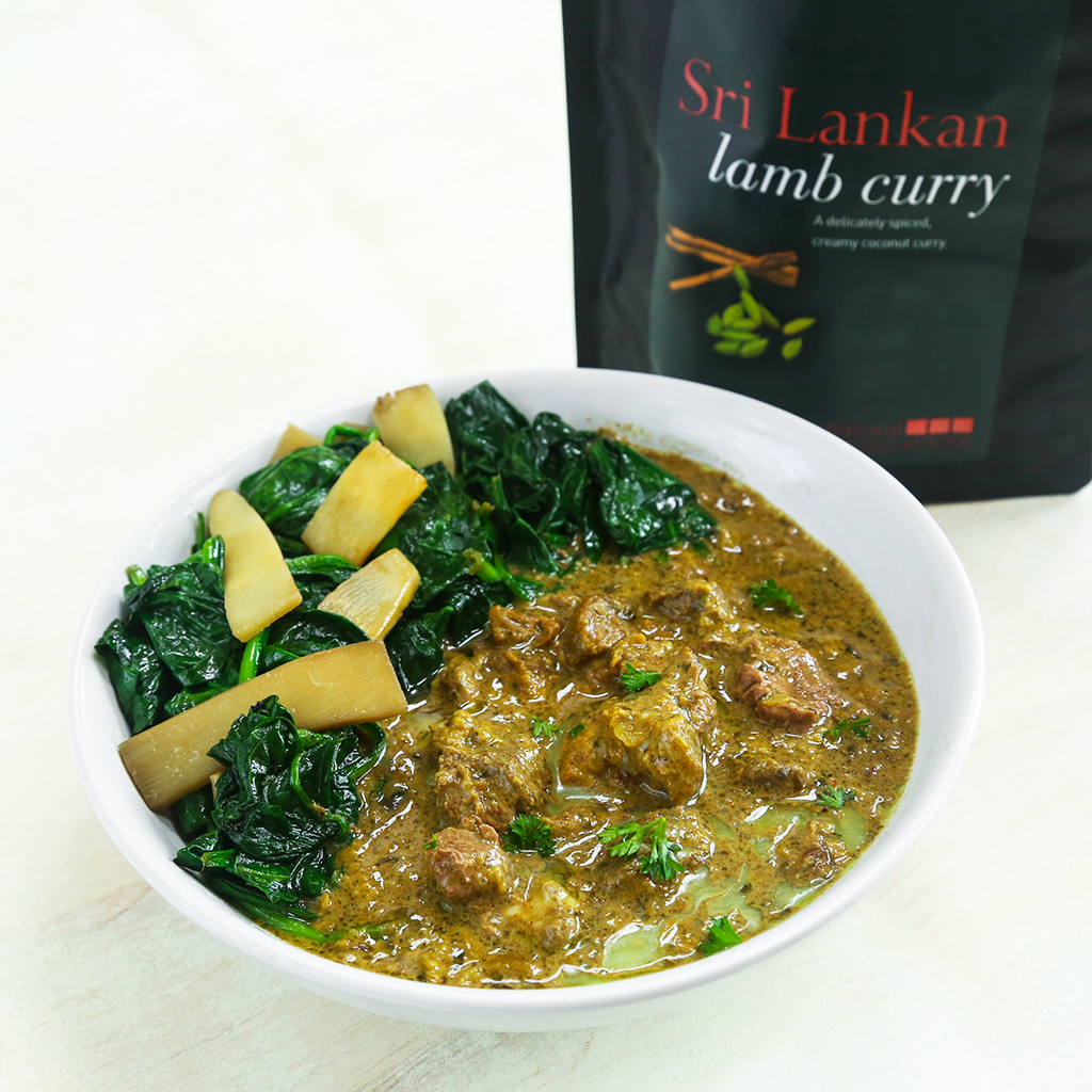 Sri Lankan Lamb Curry